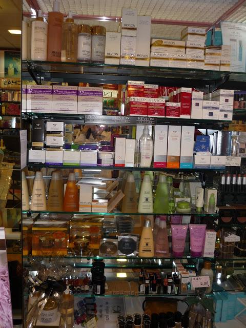 Perfumería Comercial Astur. Caveda, Oviedo. Punto de venta Eva Rogado