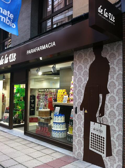 Perfumería de la Uz. Marqués de Teverga, Oviedo. Punto de venta Eva Rogado