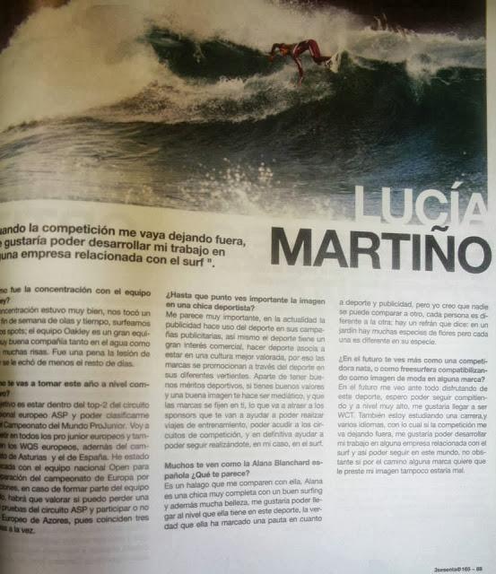 """Entrevista a Lucía Martiño en """"el diván de Kike Rogado"""""""