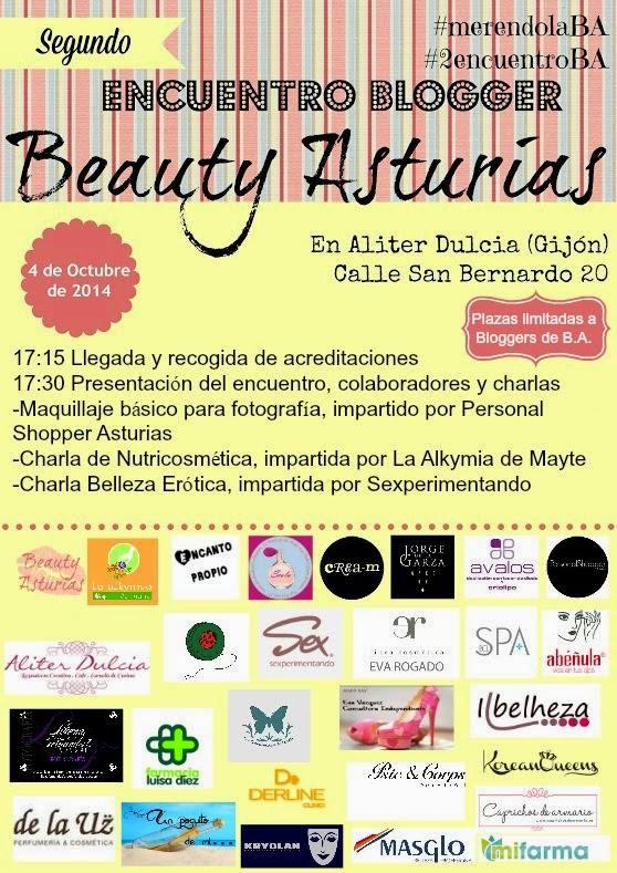 Eva Rogado en el II Encuentro Bloggero Beauty Asturias