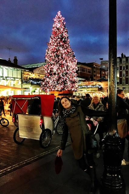 Luces de Navidad en Londres por Eva Rogado
