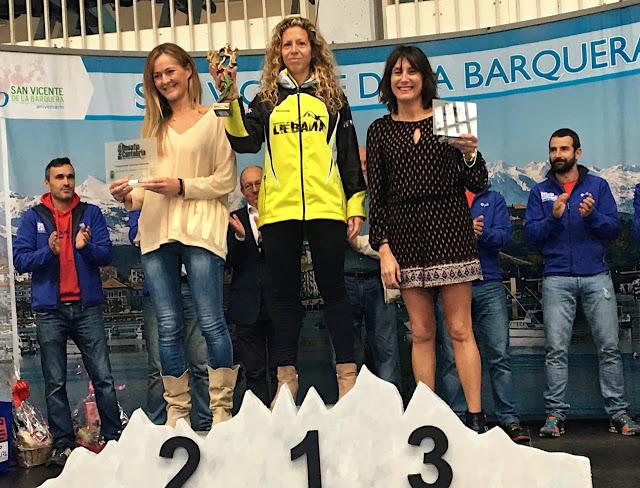 Podium Desafío Cantabria 2016