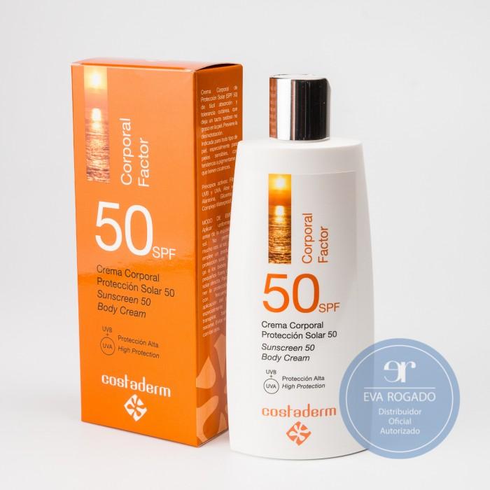Crema Corporal Solar 50