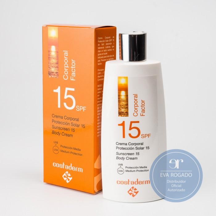 crema solar factor 15