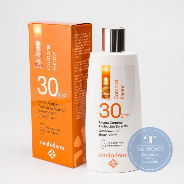 Crema Solar Factor 30