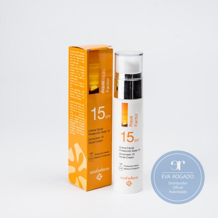 Crema Solar Facial Protección 15