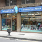 Perfumería Comercial Astur. Avda. Costa, Gijón. Punto de venta Eva Rogado