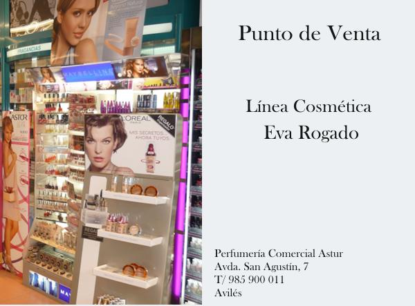 Perfumería Comercial Astur. Avda San Agustín, Avilés. Punto de venta Eva Rogado