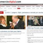 """""""Esencia de Gijón"""" en la recepción entre alcaldes asturianos."""