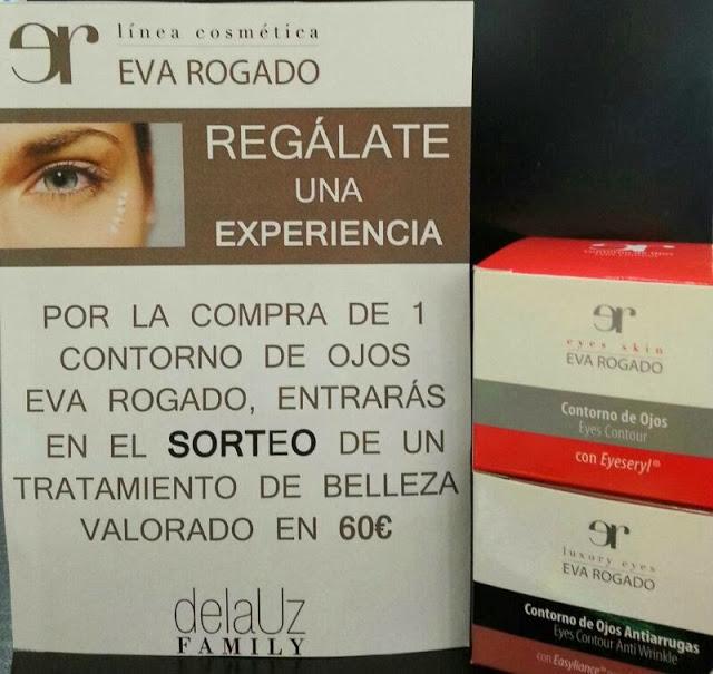 Promoción Contornos de Ojos Eva Rogado en perfumería de la Uz