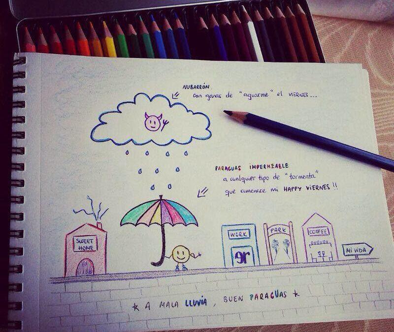 Paraguas impermeable