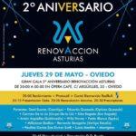 Eva Rogado ponente en la #NOFIESTA 2º Aniversario de Renovacción Asturias
