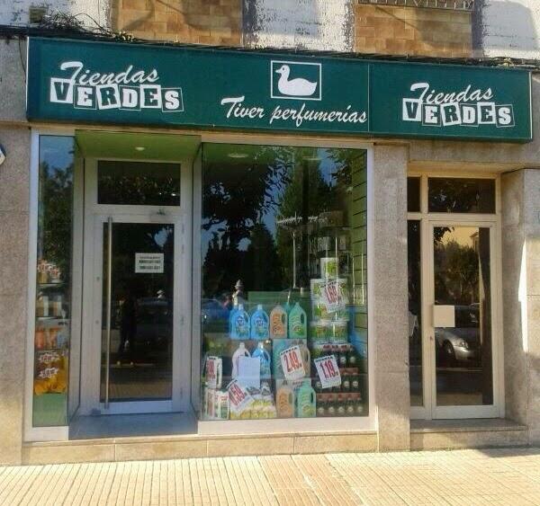Perfumería Tiver-Tiendas Verdes. Vegadeo. Punto de venta Eva Rogado