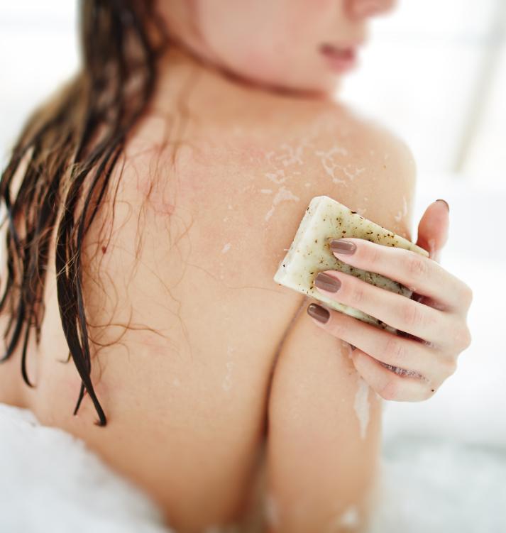 exfoliante corporal para pieles sensibles
