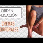 Orden de aplicación de las cremas corporales (tutorial Eva Rogado)