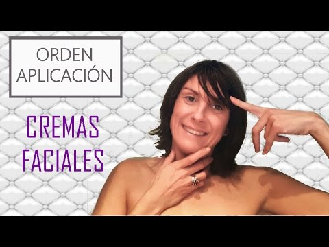 Orden de aplicación de la cosmética facial (tutorial Eva Rogado)