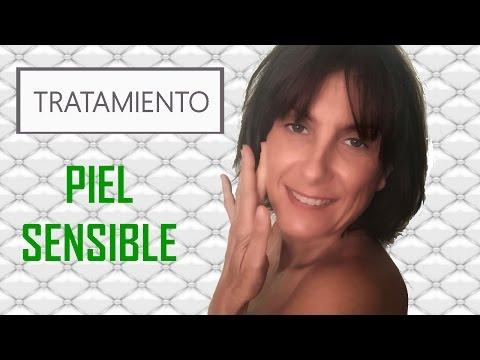 ¿Cómo tratar una piel sensible? (tutorial Eva Rogado)