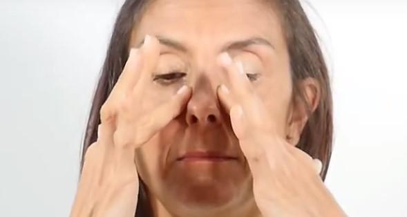 masaje drenante linfático facial