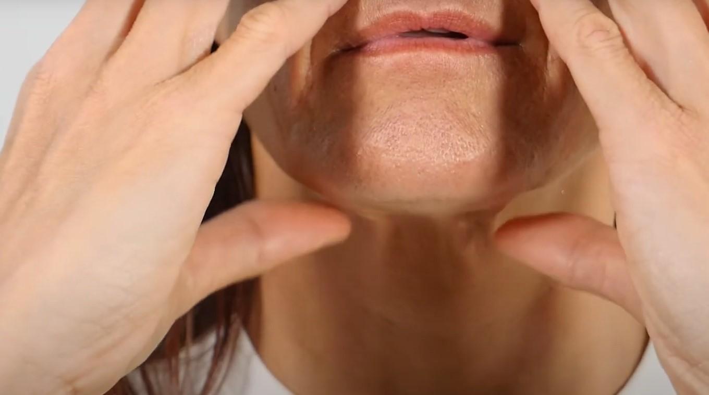 masaje linfatico para la caraa