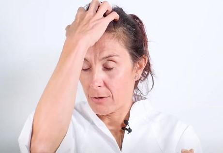 masaje de reflexologia facial