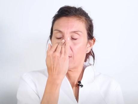 reflexologia facial masaje