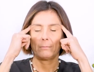 masaje relajante facial